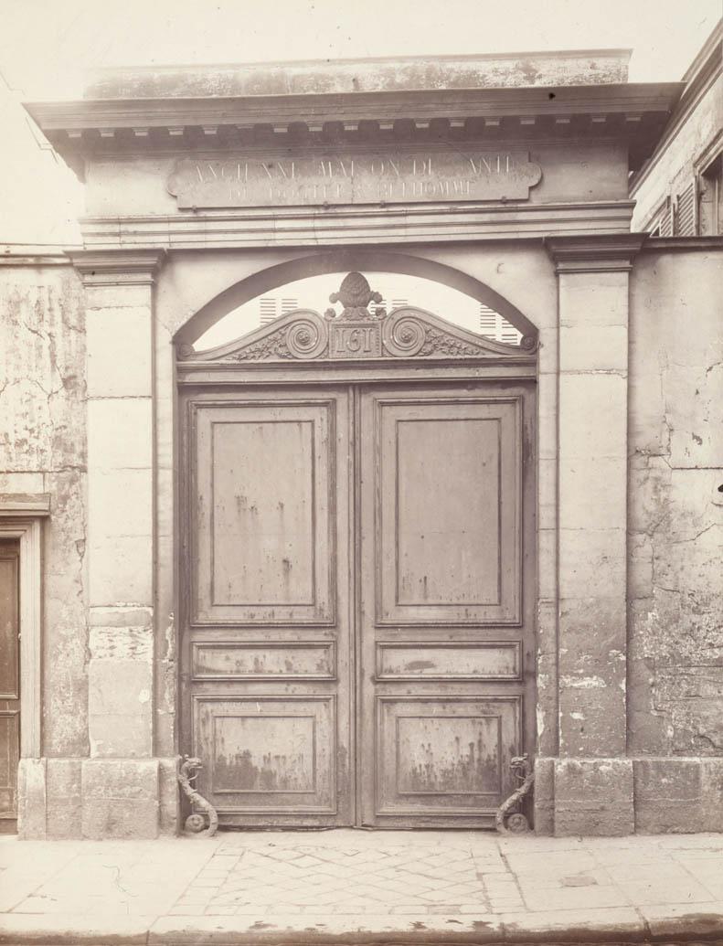 Ancienne maison de santé de Jacques Belhomme, 161 rue de Charonne, en 1920