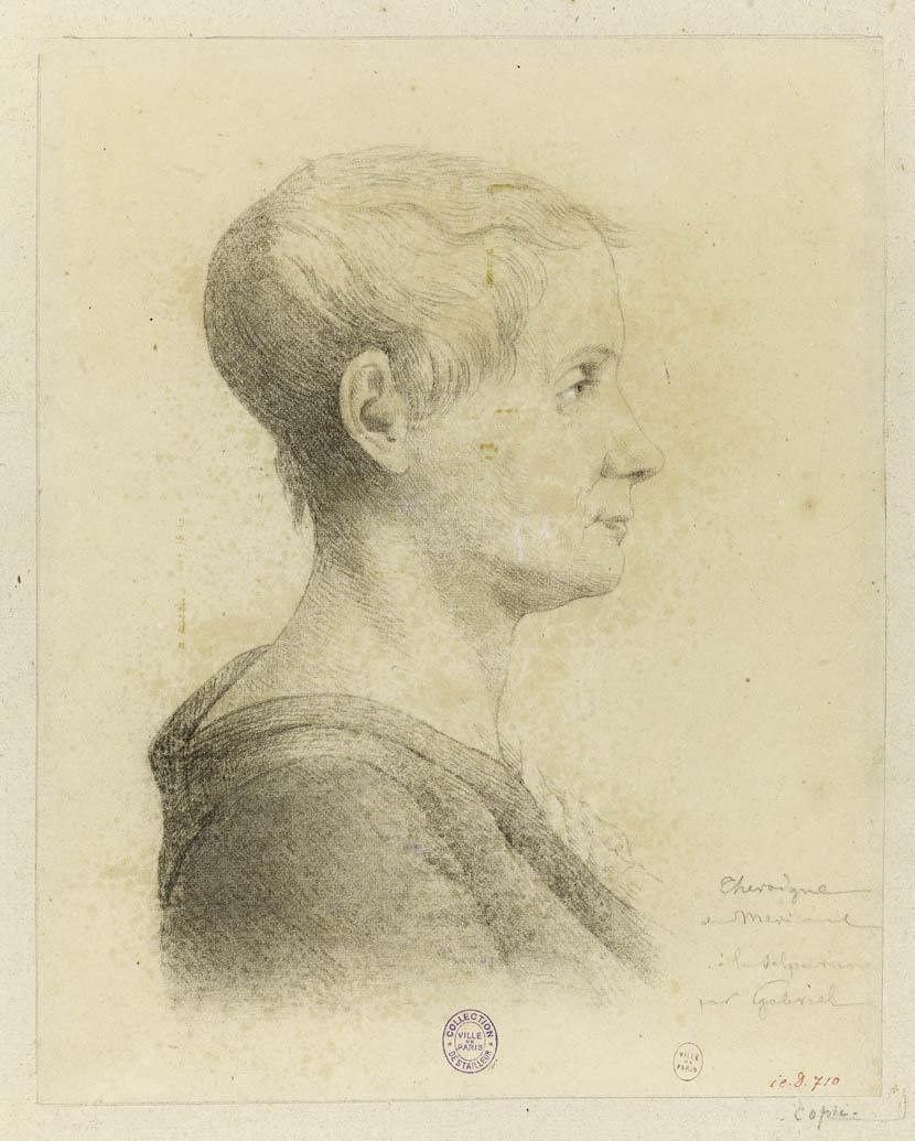 Portrait de Théroigne de Méricourt, 1816